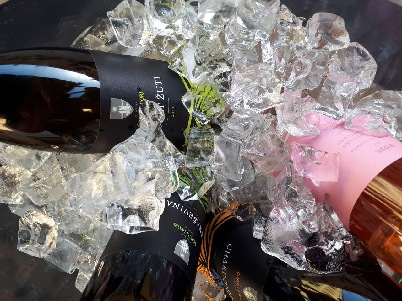 Maturing of wine